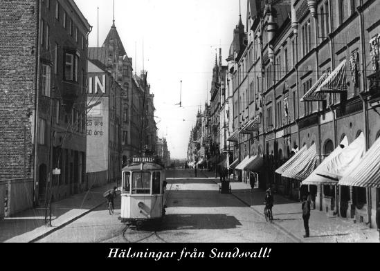 Spårvagn vid Storgatan 3