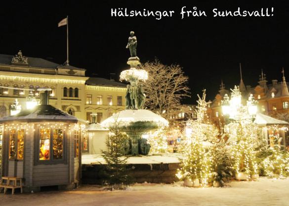 Vykort.053 Jul i Vängåvan m bankhuset-1