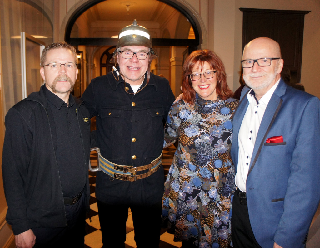 Sven-Olov Hansson, Tommy Jansson, Maria Åslin och Svenåke Boström.