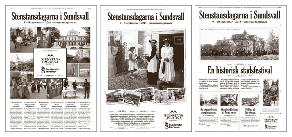 Stenstanstidningen 2014, 2015, 2016