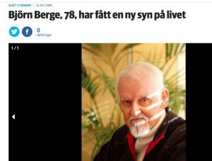Björn Berge i Dagbladet