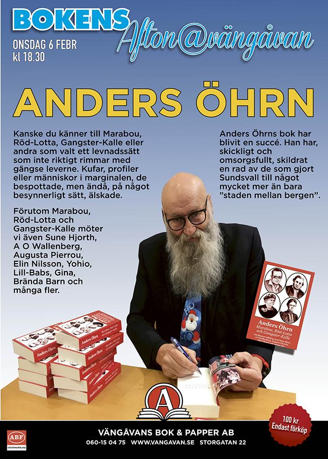 Ny boksignering med Anders Öhrn.